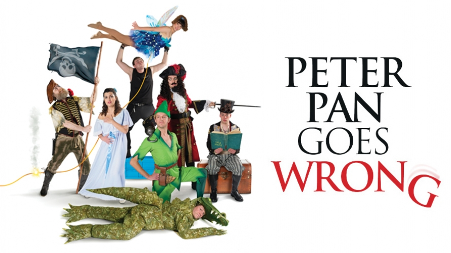 Peter Pan Goes Wrong @ Milton Keynes Theatre