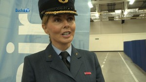Carol Vorderman joins the RAF