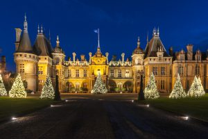 Christmas Lights at Waddesdon Manor 2014