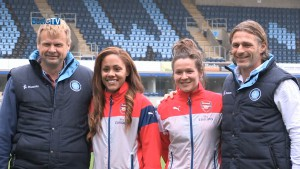 FA WSL Continental Cup Final 2014 at Adams Park