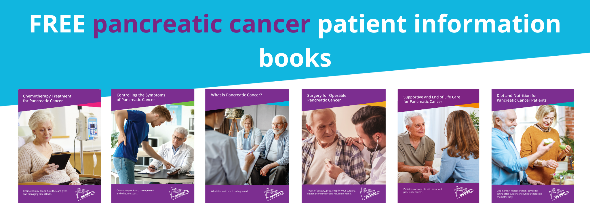Cancer charity launches new patient information booklets