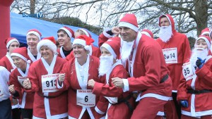 Marlow Santas Fun Run 2014