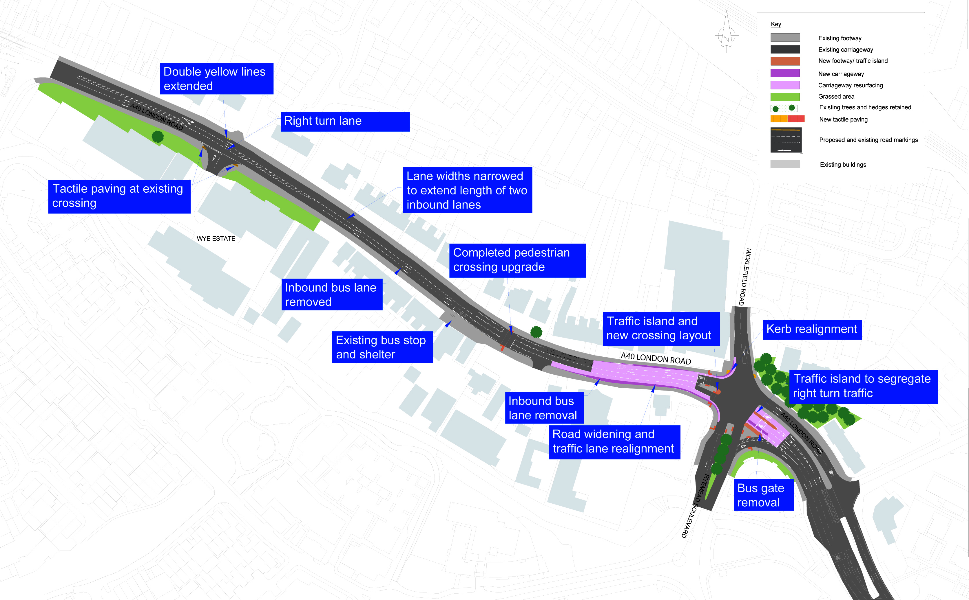 New phase in London Road improvement work