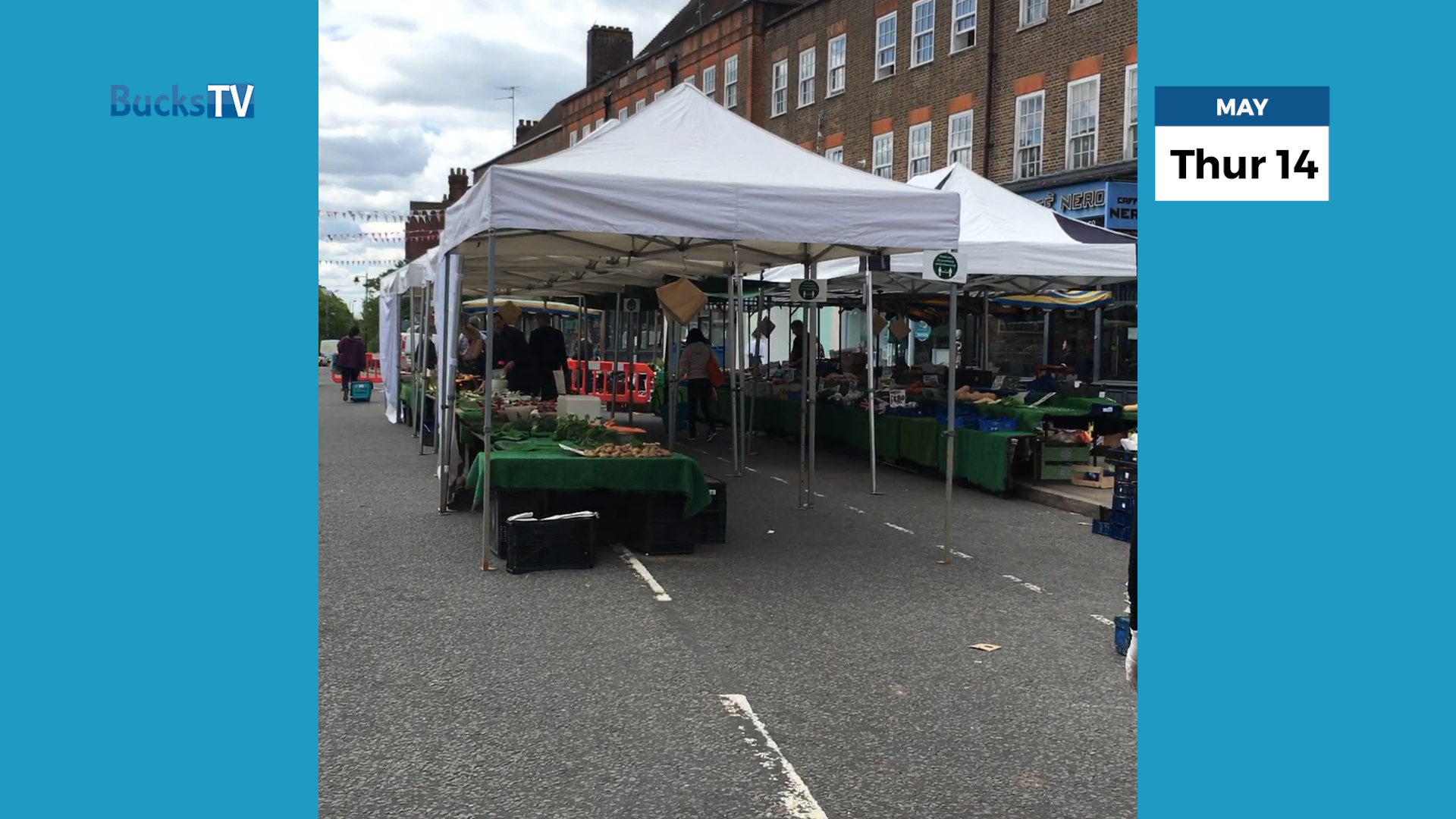 The Isolation Pod Show – Tues 19th May 2020 – AMERSHAM MARKET