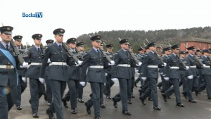 RAF Reservist joins Regular Recruit Graduation