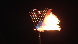 VE day 70th anniversary Beacon Lighting